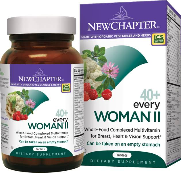 New Chapter Organics Every Woman II Multivitamin - 48 Tablets
