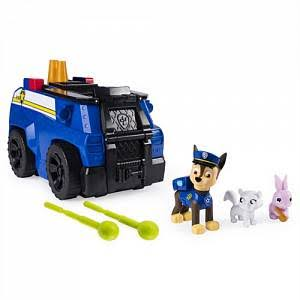Paw Patrol Chase's Ride 'n' Rescue Transforming 2-in-1 Playset & Police Cruiser