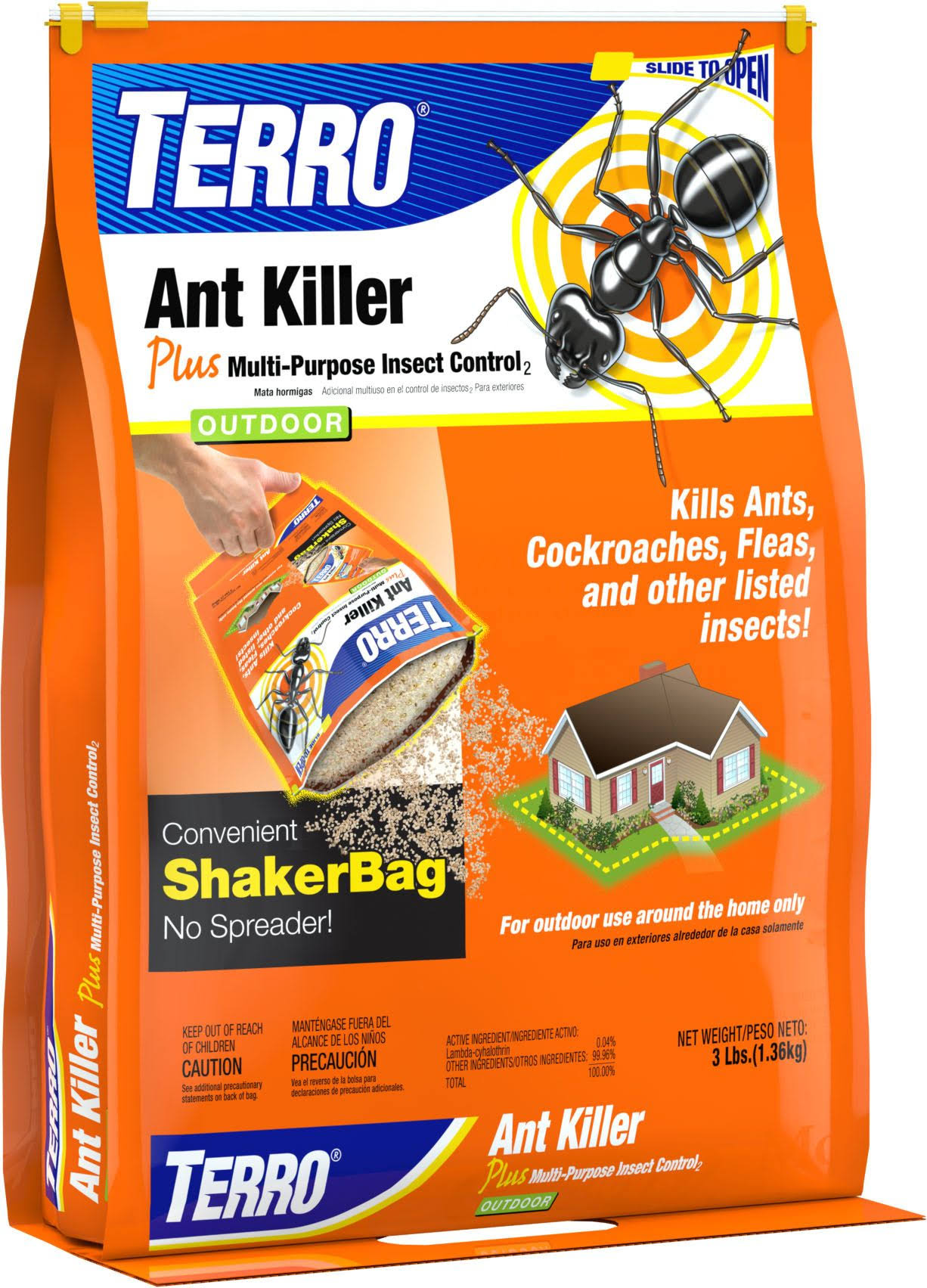 Terro Outdoor Ant Killer - 3lbs