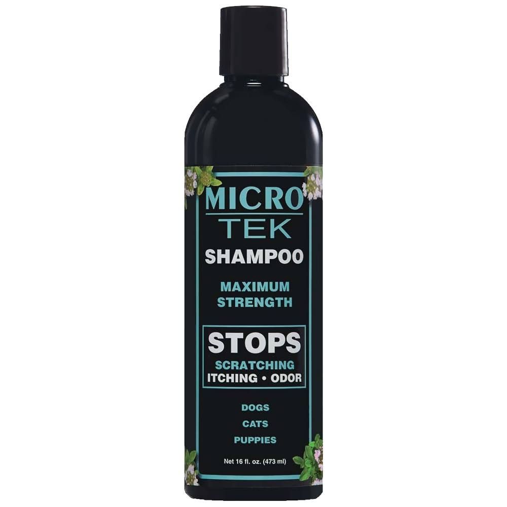 EQyss Micro-Tek Medicated Pet Shampoo - 16oz