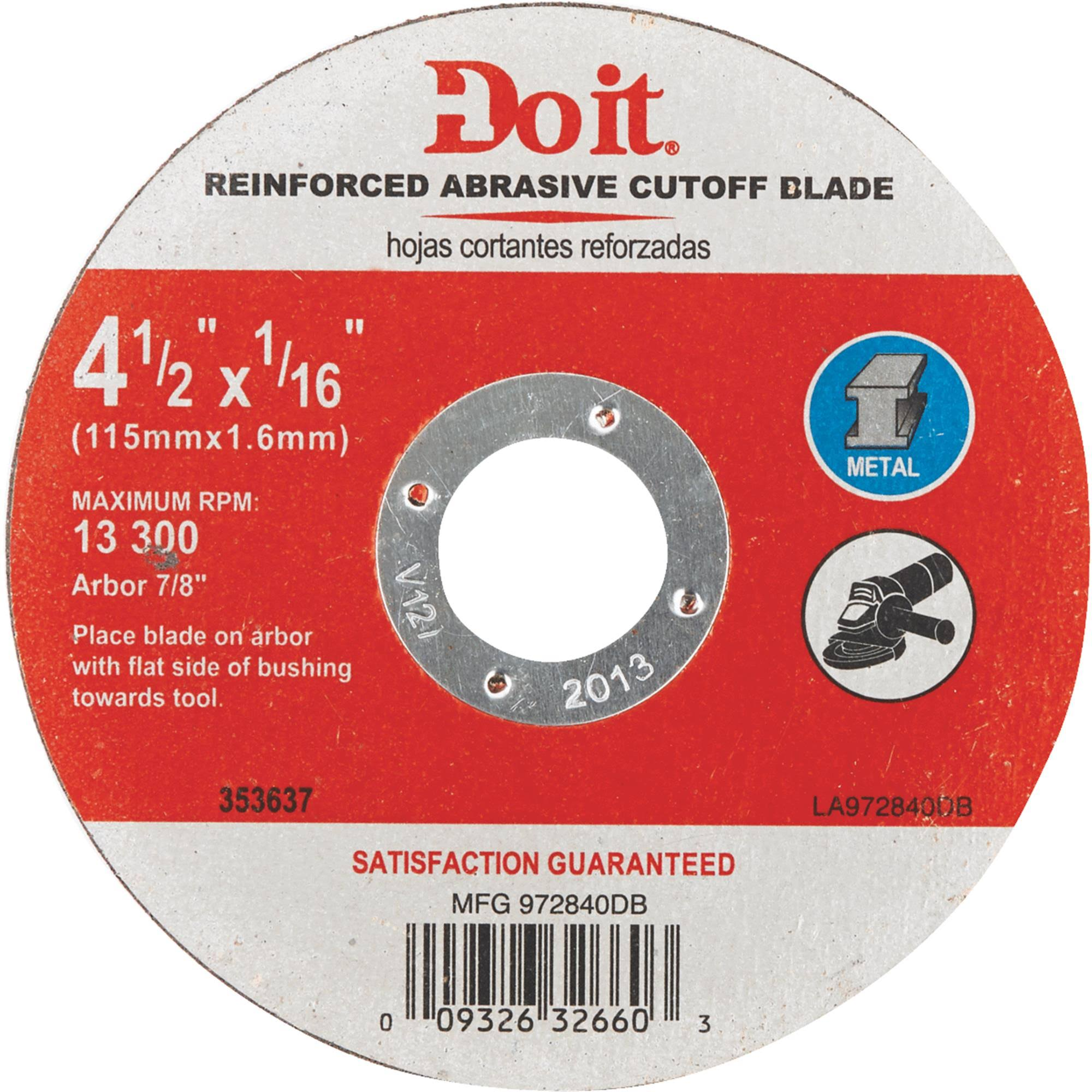 Do It Type 1 Cut-Off Wheel - 972840DB