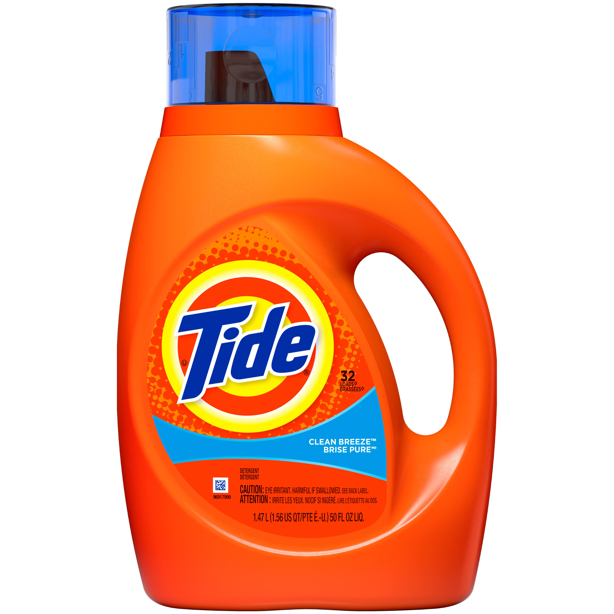 Tide Clean Breeze Scent Liquid Laundry Detergent - 50oz