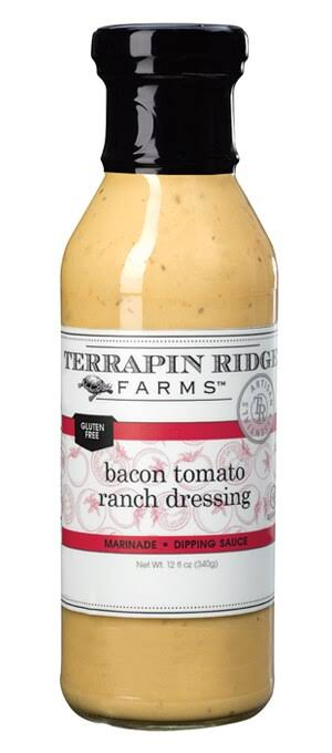 Terrapin Ridge Farms Bacon Tomato Ranch Dressing 12 fl oz