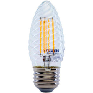 Feit Electric Light Bulb, LED, Soft White, 6 Watts