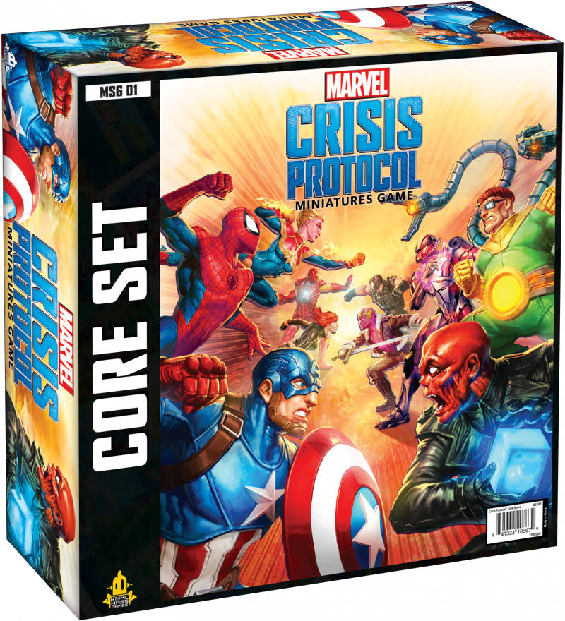 Marvel Crisis Protocol Core Set Miniatures Game