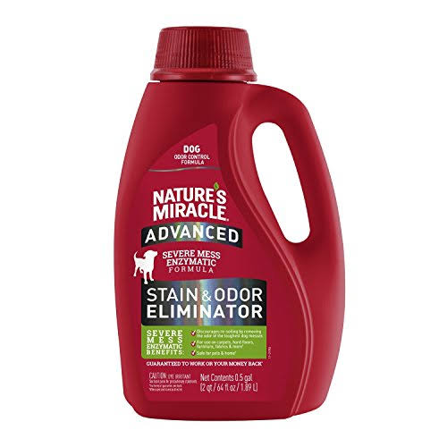 Natures Miracle NM98142 64 oz Advanced Dog Odor & Stain Remover