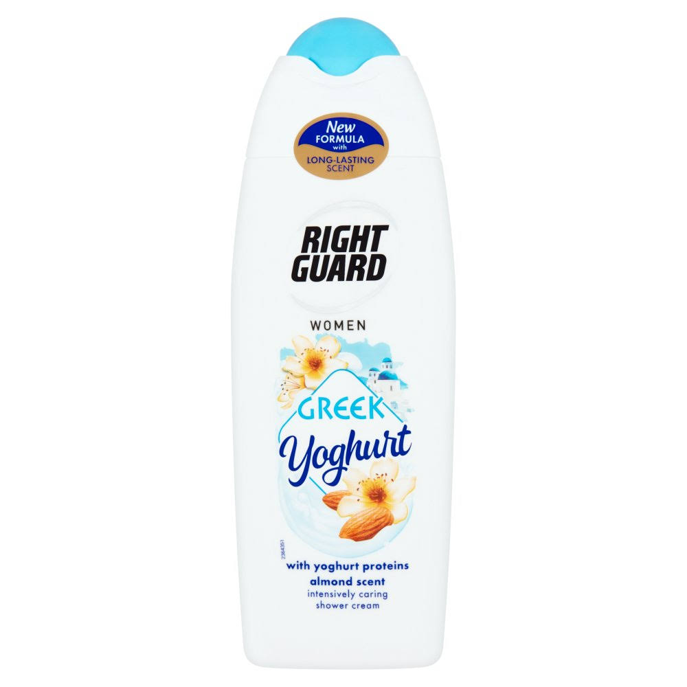 Right Guard Women Greek Yoghurt Shower Cream 250ml