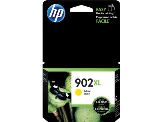 HP 903XL Ink Cartridge - Yellow, High-Yield