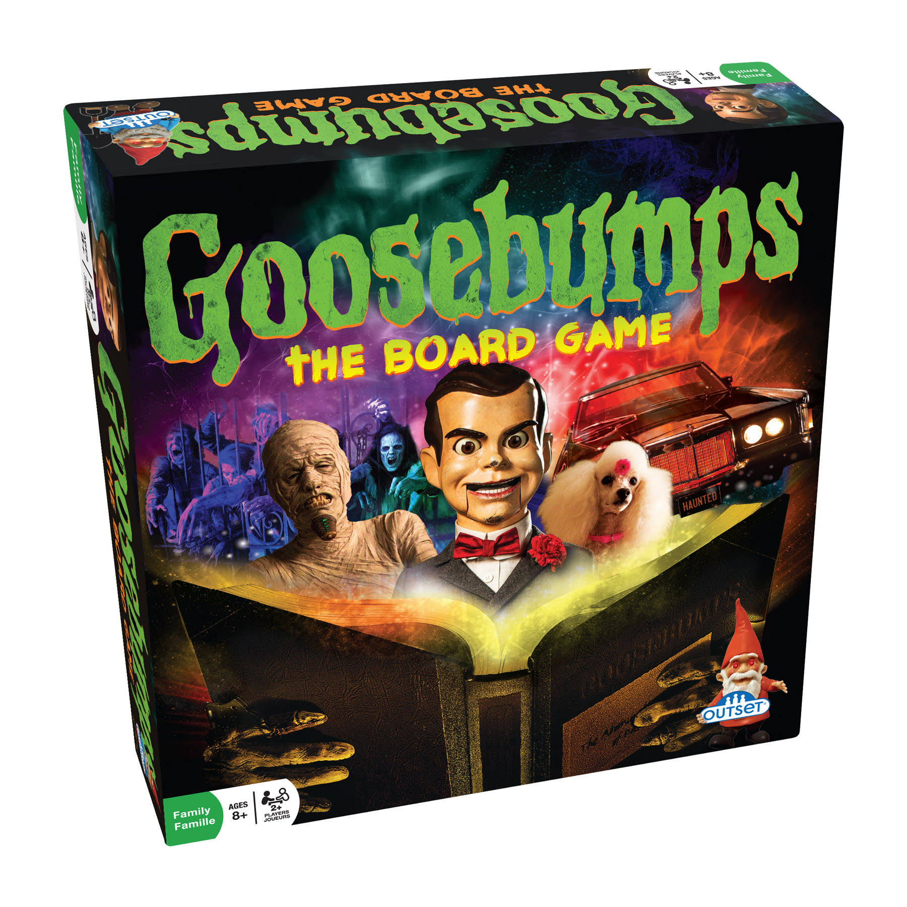 Outset Media Goosebumps The Board Game