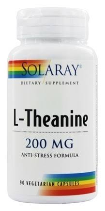Solaray L-Theanine Supplement - 200mg, 90ct