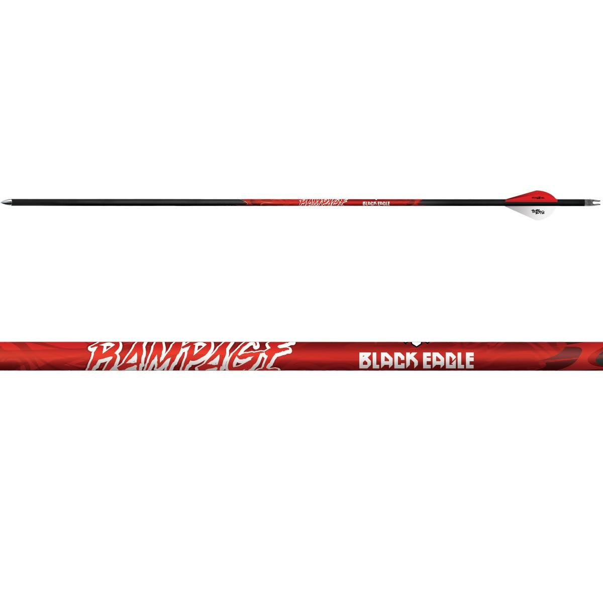Black Eagle Rampage Fletched Arrows - 6-Pack
