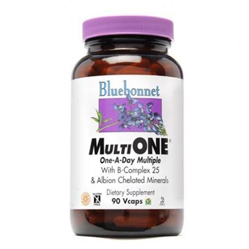 Bluebonnet Multi One Single Daily Multiple with B-Complex 25 Vegetarian Capsules - x30