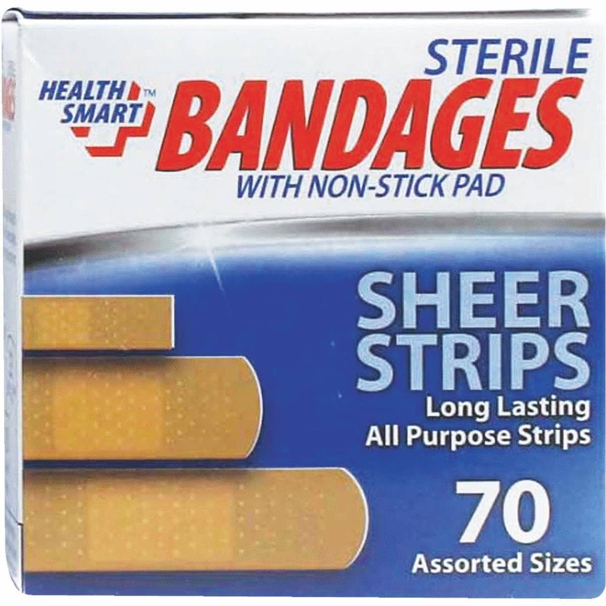 International Wholesale HS-01389 70 Pack Bandages Pack of 24