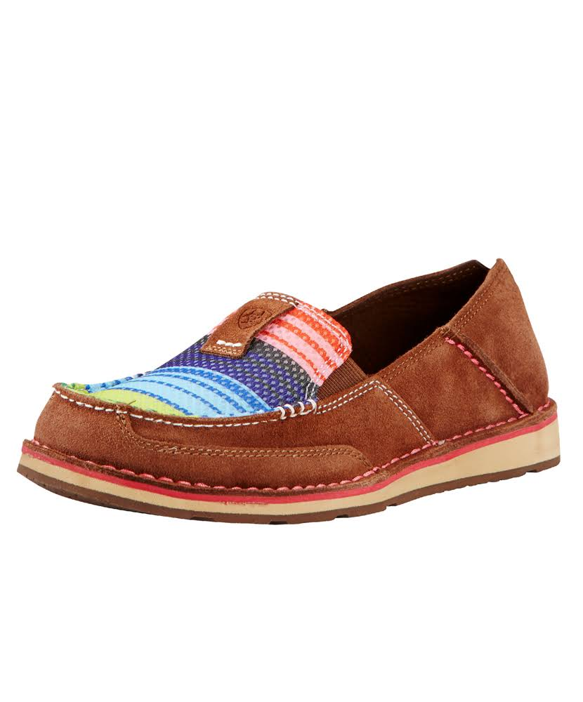 Ariat Women's Cruiser Slip-Ons - Palm Brown/Serape (9)