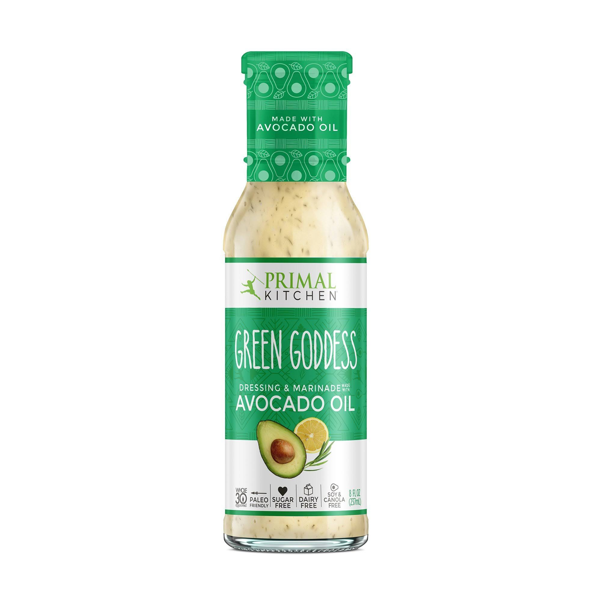 Primal Kitchen Green Goddess Dressing - Avocado Oil, 8oz