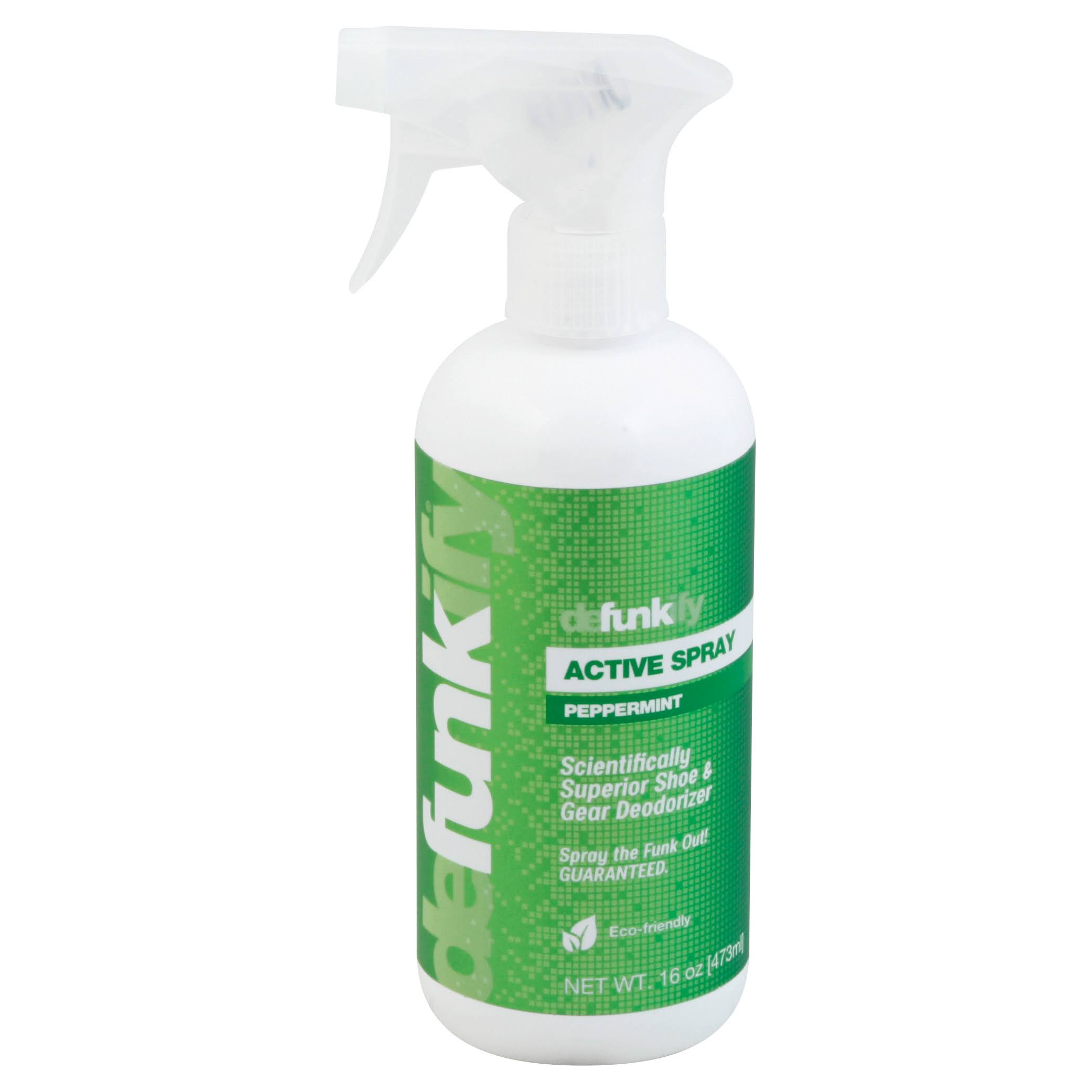 Defunkify Active Spray, Peppermint - 16 oz