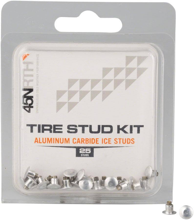 45NRTH XL Concave Studs: Aluminum Carbide Pack of 25