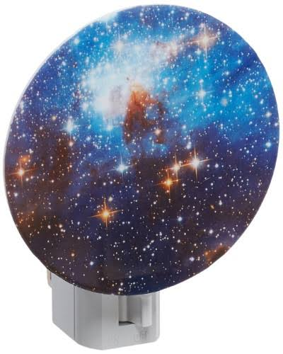 Kikkerland Galaxy Night Light Mood Lamp - 7W