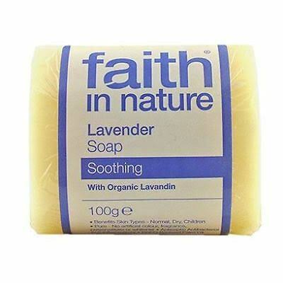 Faith in Nature Lavender Soap (100g)
