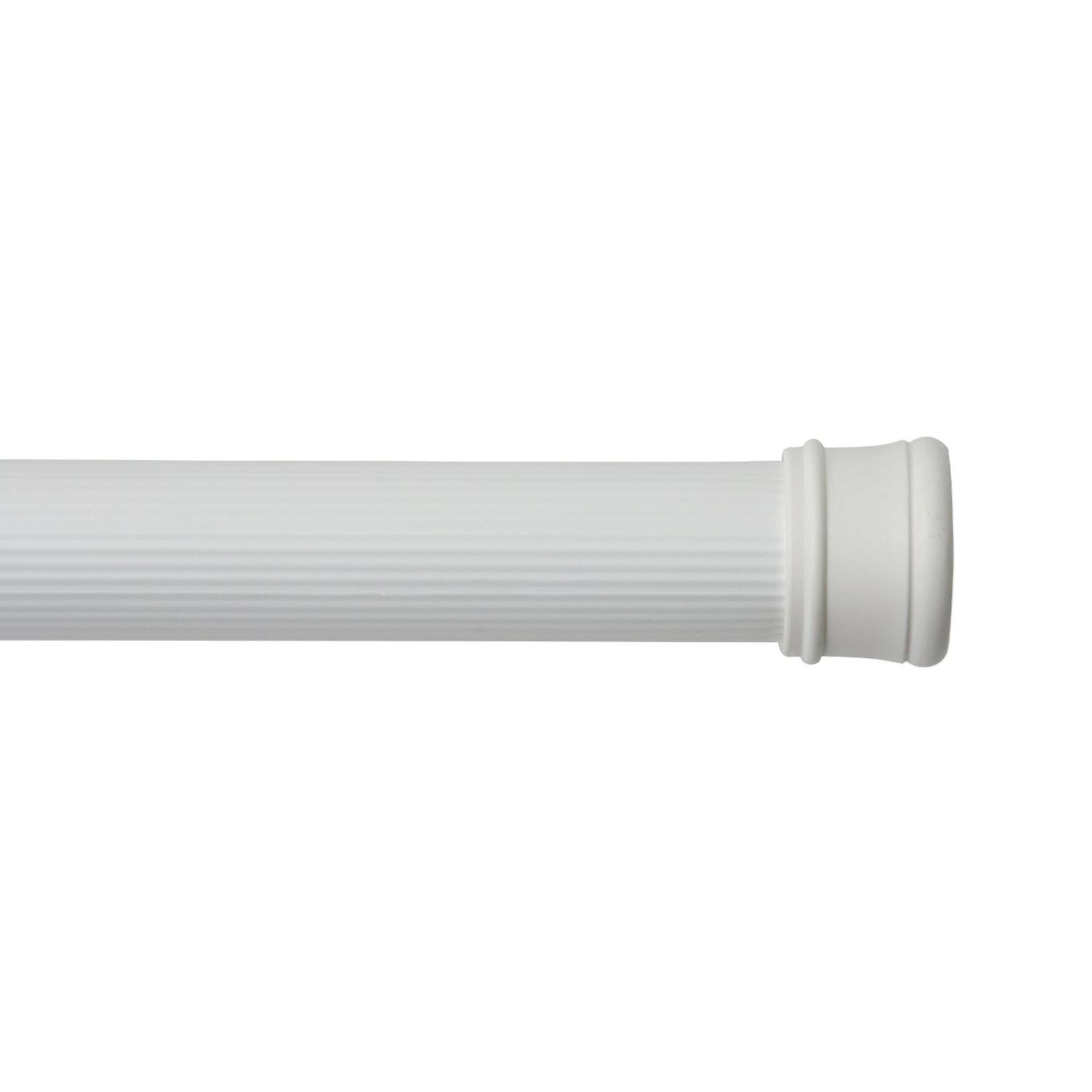 "Kenney Tension Shower Curtain Rod - 42"" to 72"", White"