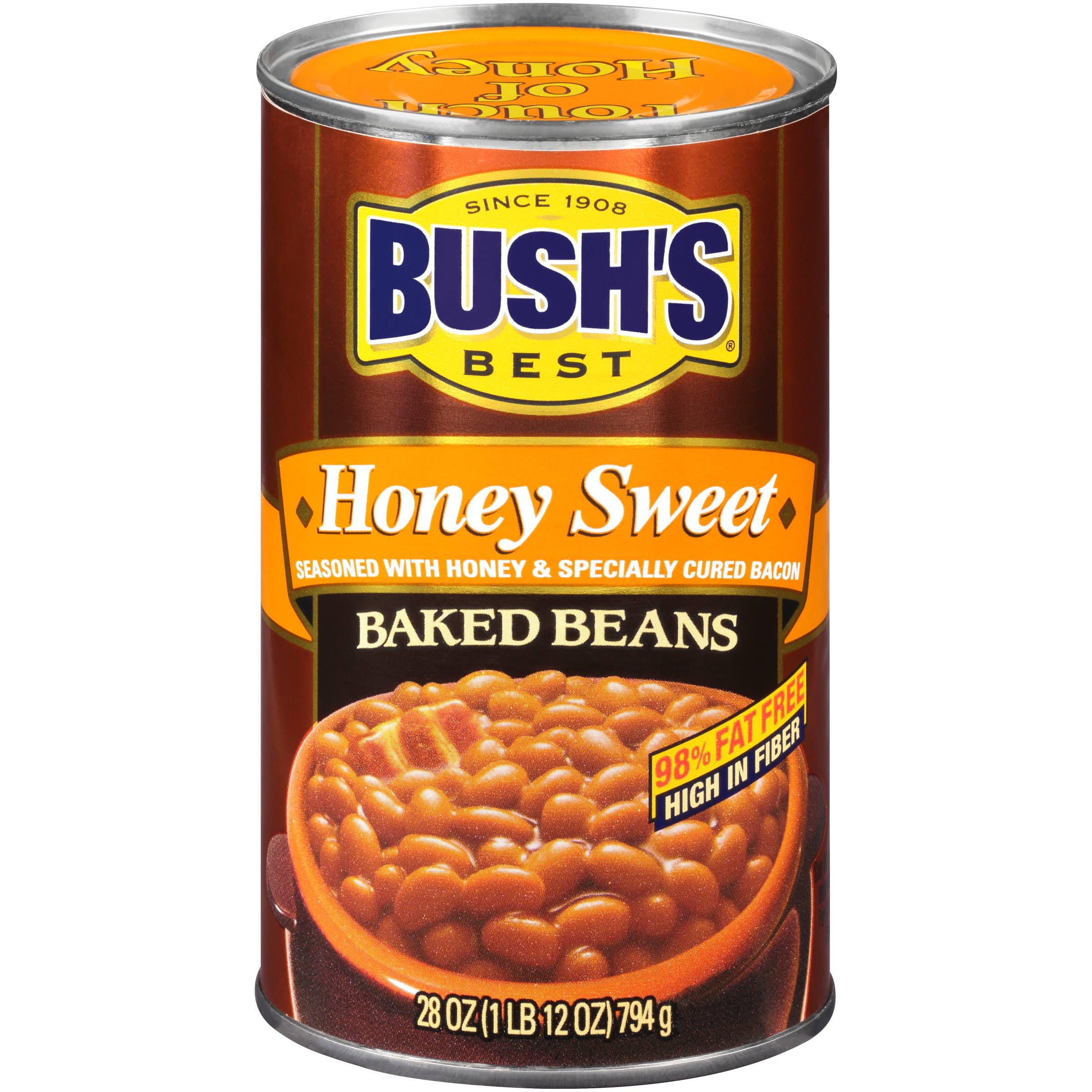 Bush's Best Baked Beans - Honey, 28 oz