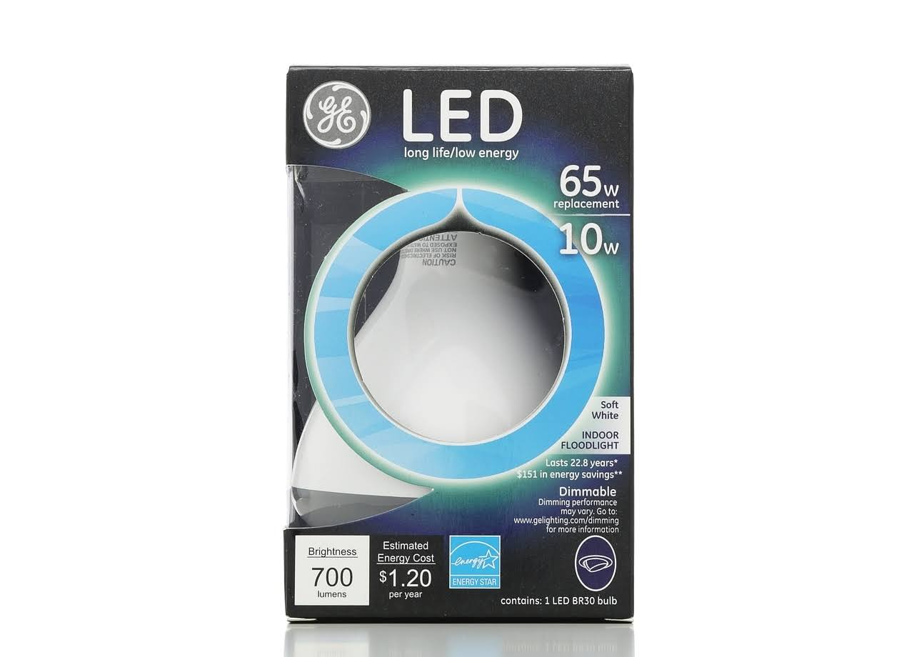 GE LED Light Bulb - 65W, Soft White, 700 Lumens