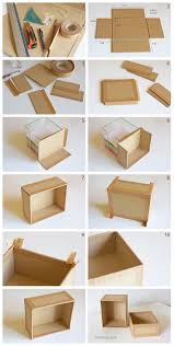 How To Make A Wooden Toy Chest by Best 25 Cardboard Box Storage Ideas On Pinterest Decorative