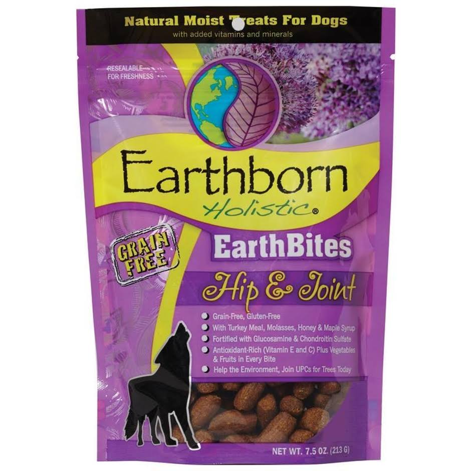 Earthborn Holistic Earthbites Hip & Joint Natural Moist Treats