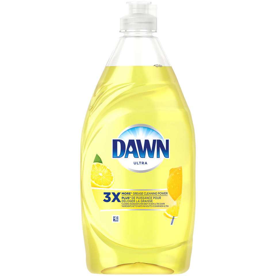Dawn Ultra Dishwashing Liquid - Lemon, 532ml