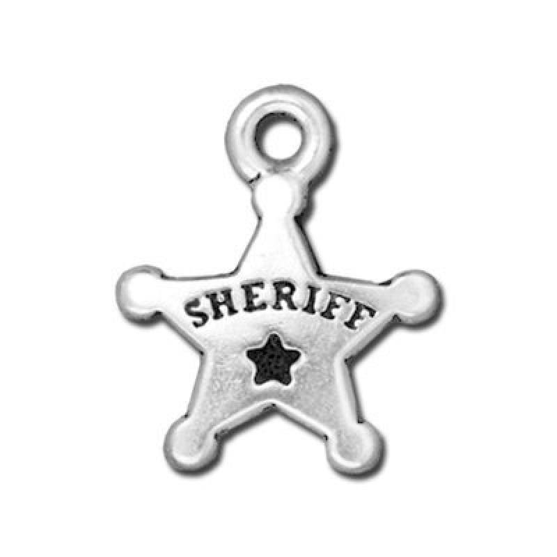 Cowboys Replica Toy - Sheriff Badge