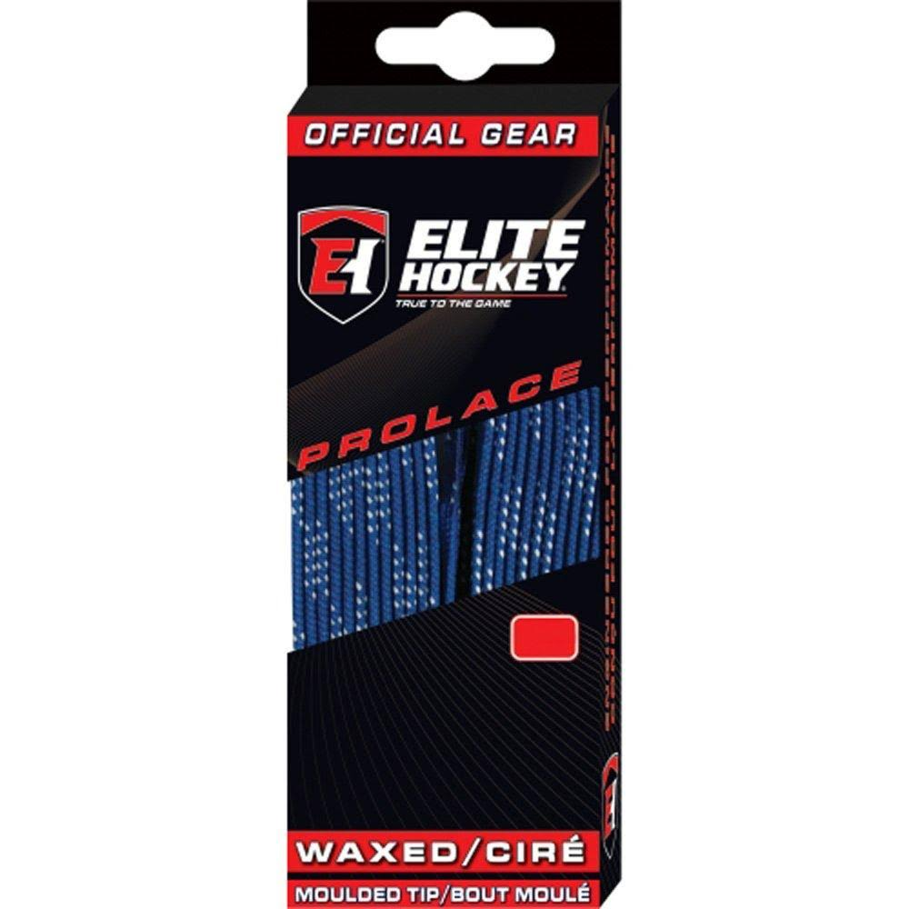 Elite Waxed Molded Tip Hockey Skate Laces