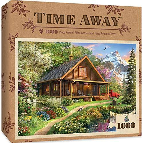 Masterpieces 71750 Mountain Retreat Time Away Puzzle 1000 Pieces