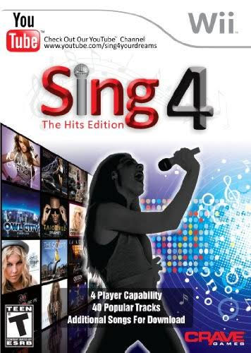 Sing 4: The Hits Edition with Microphone - Nintendo Wii