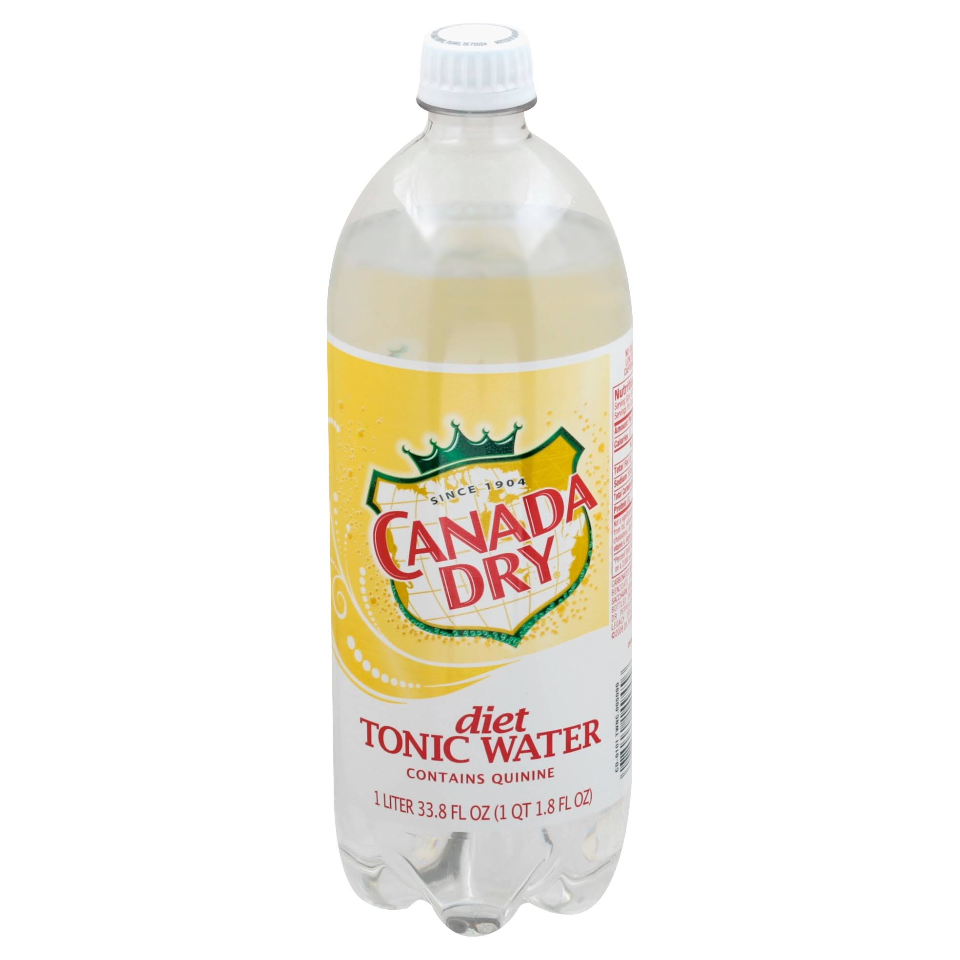 Canada Dry Diet Tonic Water - 1l