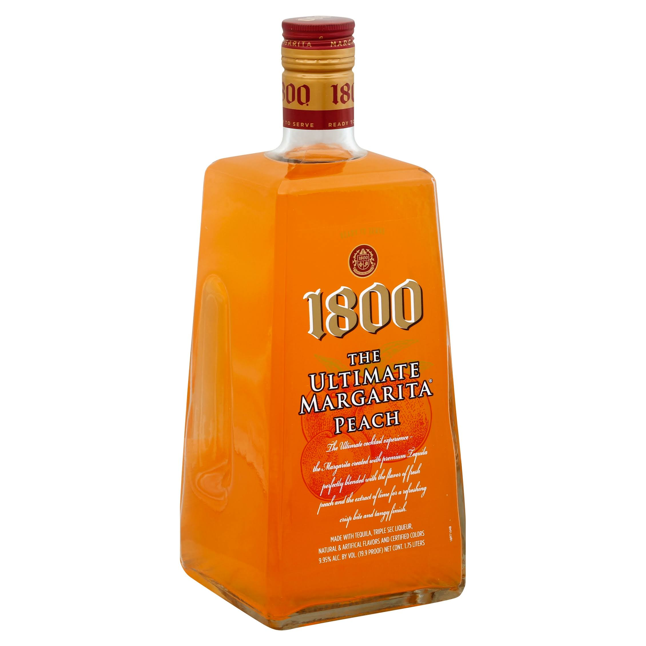1800 The Ultimate Margarita Peach - 1.75l