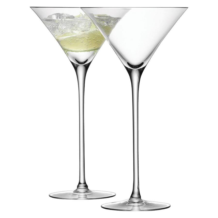 LSA Bar Cocktail Glasses - Clear, 9.7oz, 2pk