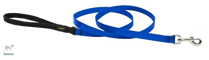 "Lupine Pet Basics Dog Leash - Blue, 1/2"" X 4'"