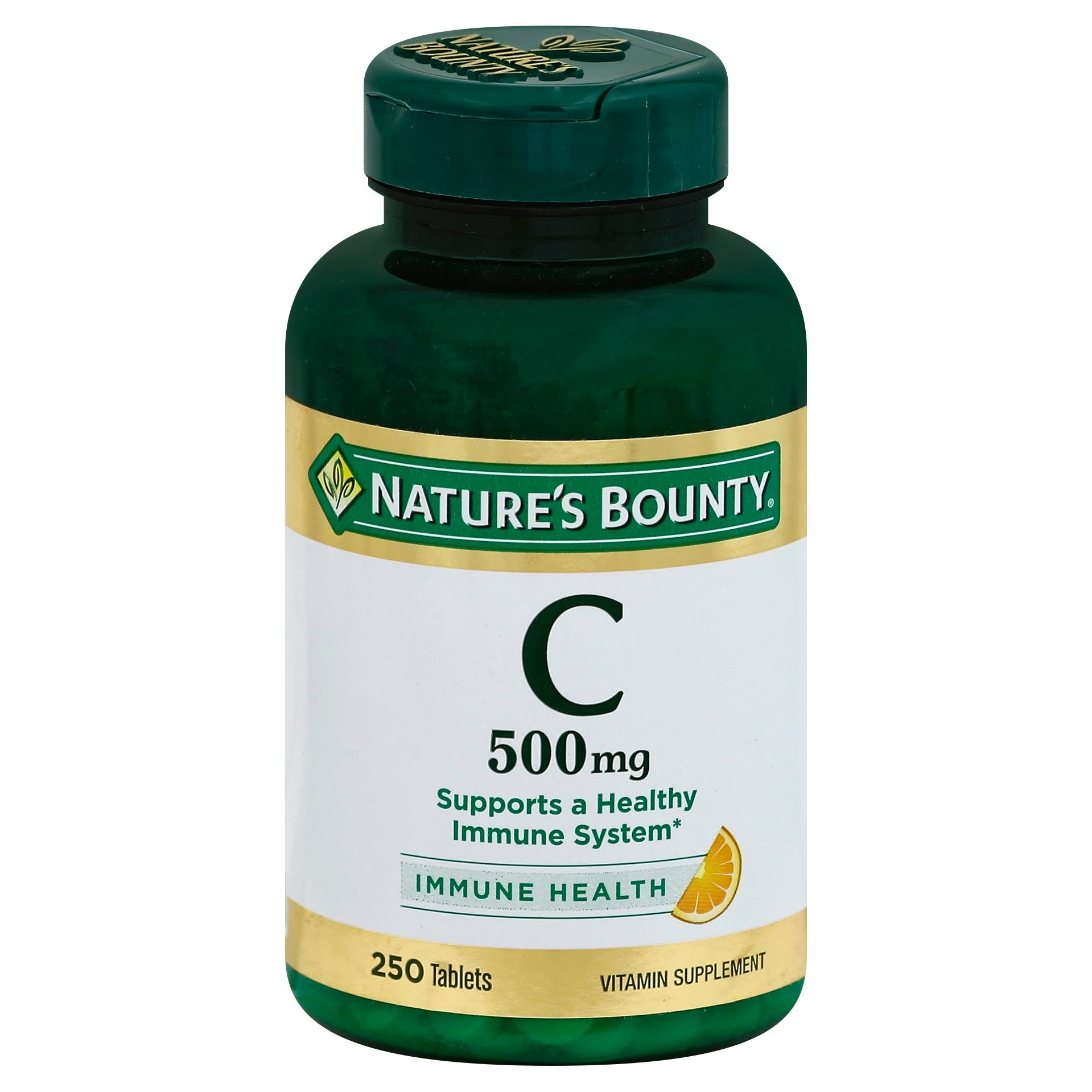 Nature's Bounty Vitamin-C 500mg Dietary Supplement - 250 Tablets