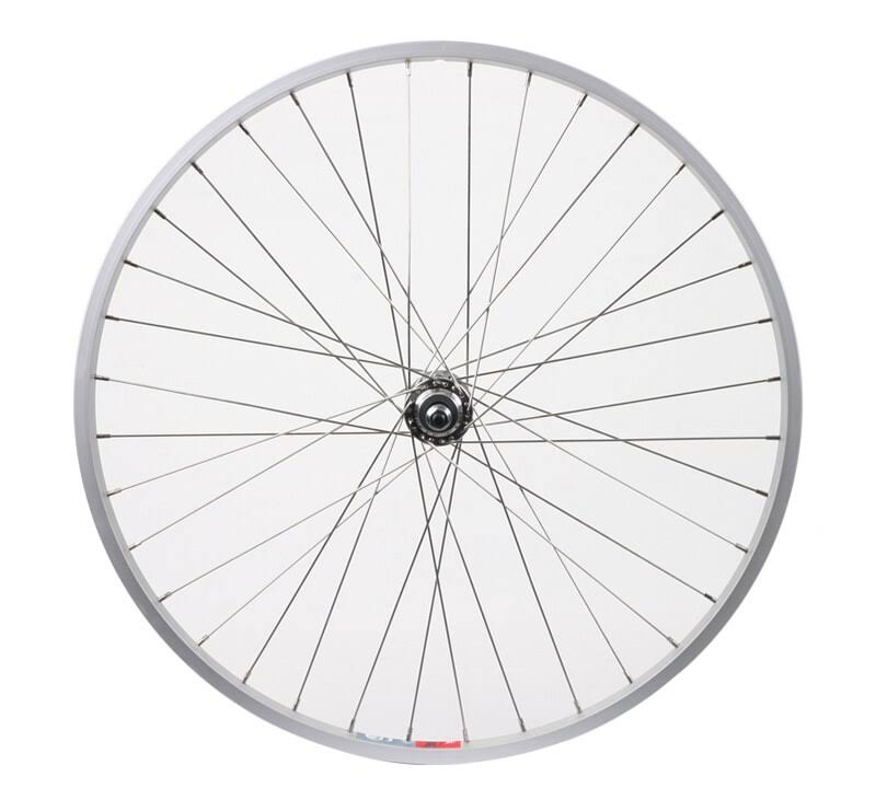 Wheel Master Rear Bicycle Wheel - Alloy Bolt on Silver, Silver, 26""
