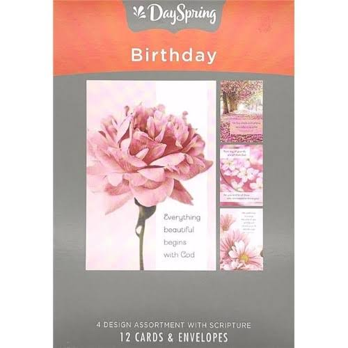 Day Spring Cards Thank You Simply Stated Boxed Cards - 12pk
