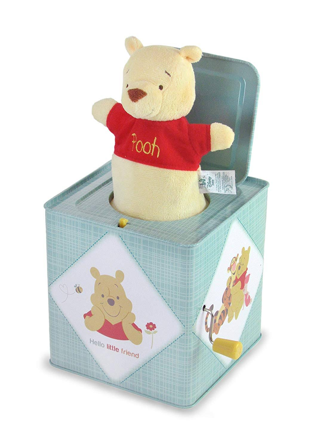 Kids Preferred Jack-in-the-Box Instrument - Winnie the Pooh