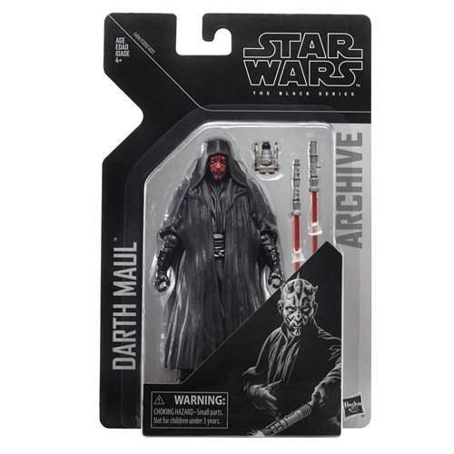 Star Wars The Black Series Archive Darth Maul Action Figures - 6""