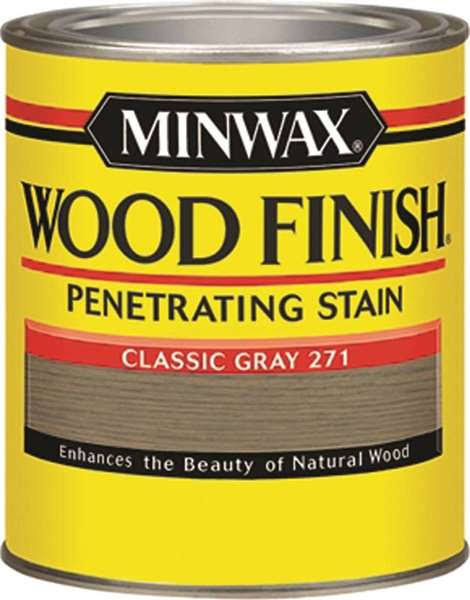 Minwax Interior Stain Wood Finish - Classic Gray, .5pint