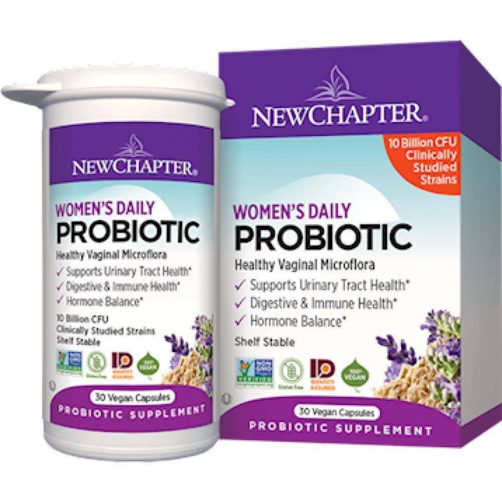New Chapter Women's Daily Probiotic - 30 Capsules