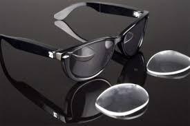 occhiali da sole con videocamera e registrazione
