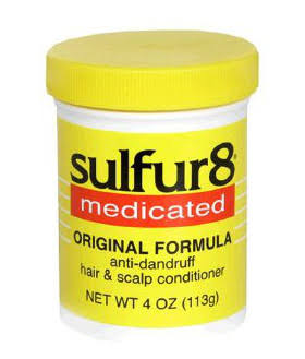 Sulfur8 Medicated Regular Formula Anti-Dandruff Hair and Scalp Conditioner - 2oz