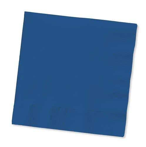 Touch of Color Lunch Napkins - Navy Blue