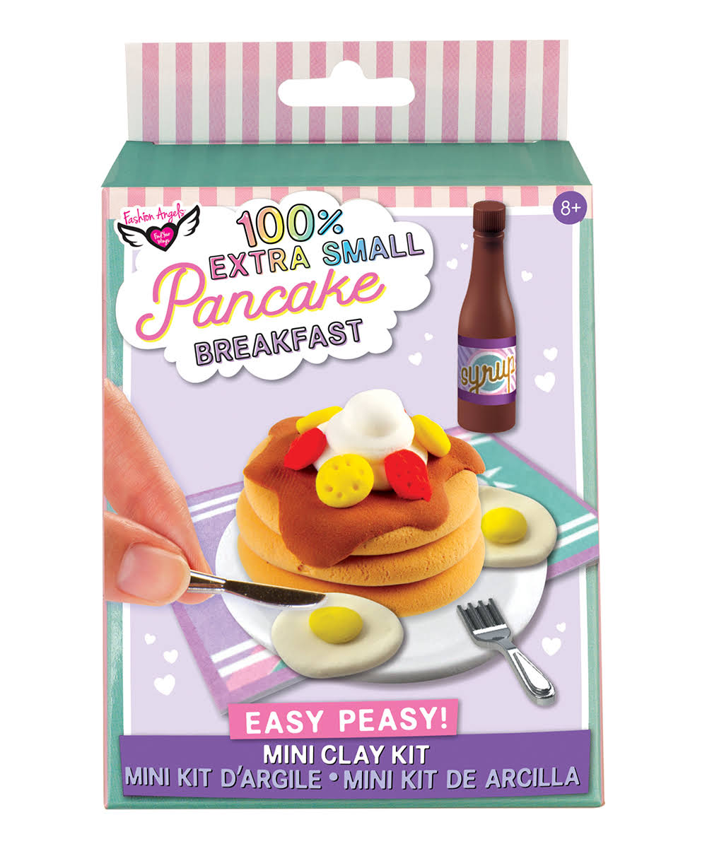 Fashion Angels 100% Extra Small Mini Clay Kit: Pancake Breakfast