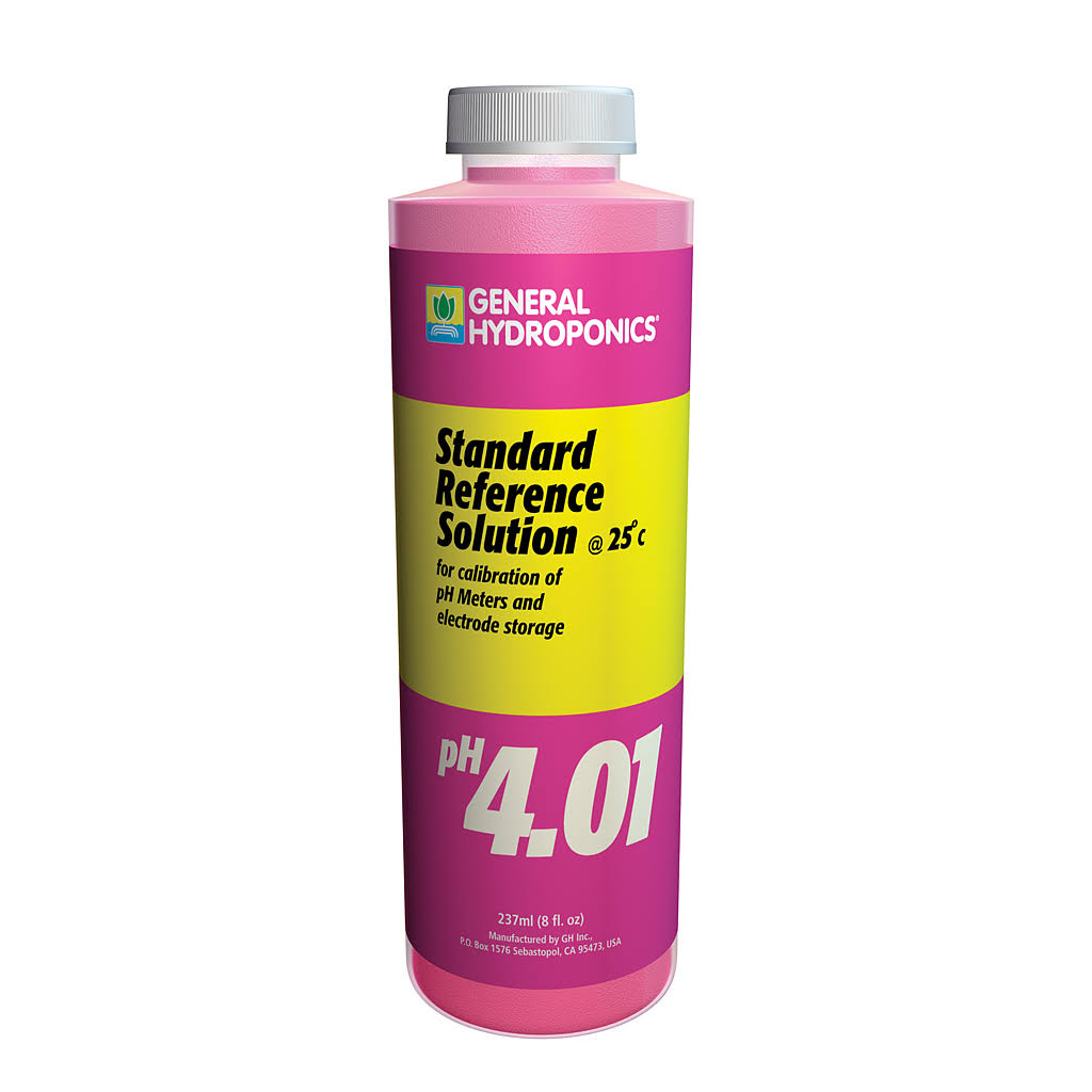 General Hydroponics PH 4.01 Calibration Solution - 8oz