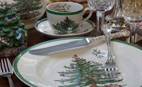Spode Christmas Tree by The Dish 2015 Holiday Newsletter